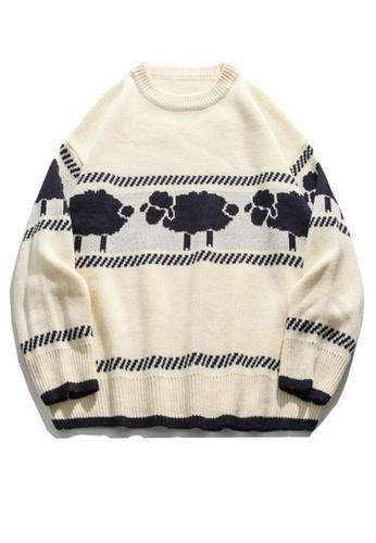 Twenty Eight Shoes Trend Sheep Cartoon Knit Sweater HH0508 CEA0CAAE71D050GS_1