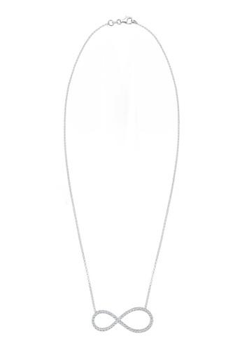 Elli Germany silver 925 Sterling Silver Swarovski® Crystals Necklace EL474AC36GTVMY_1