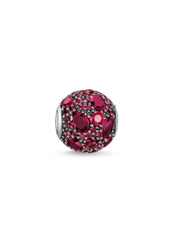 """THOMAS SABO red Bead """"red fire"""" 94EE7AC1515E9AGS_1"""