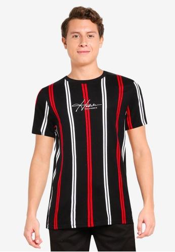 Hollister black Pattern Tech T-Shirt 00119AA0DF3008GS_1