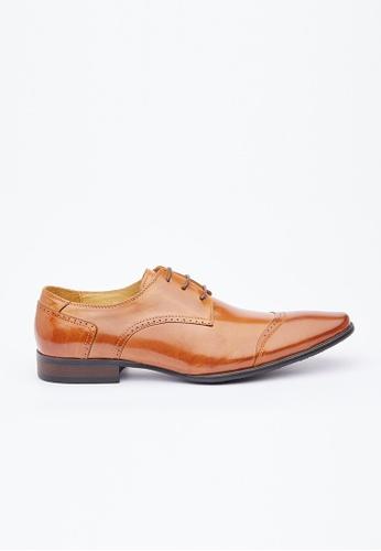 Kings Collection brown Brixton Shoes KI358SH0FW15SG_1