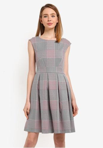 CLOSET grey Tie Back Dress DC77CAA9EC4D17GS_1