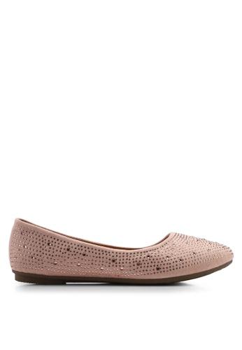 Noveni pink Noveni Flats ADA13SH2AF1A17GS_1
