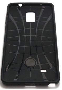 Sleek Shockproof Case for Samsung Note 4 (Gold)