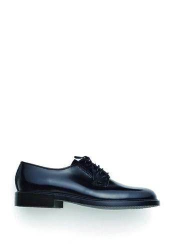 HARUTA black Lace-Up Shoes-MEN-711 15B9DSHDDA3DBEGS_1