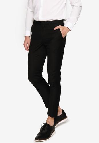 Electro Denim Lab black Formal Pants B603CAA45DA5ACGS_1