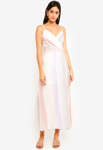 MDSCollections multi Flavia Maxi Dress In Pastel Ombre 07B93AA641E60BGS_1