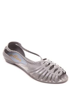 Sonia Peep-Toe Flats