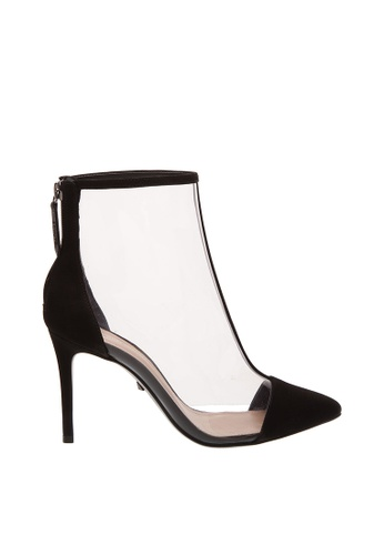SCHUTZ 黑色 SCHUTZ 透明高跟裸靴 - CLARICE (透明/黑色) 4365CSH958903AGS_1
