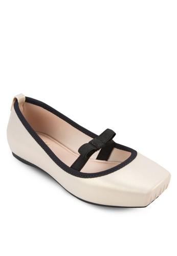 蝴蝶結芭蕾平底鞋,esprit 澳門 鞋