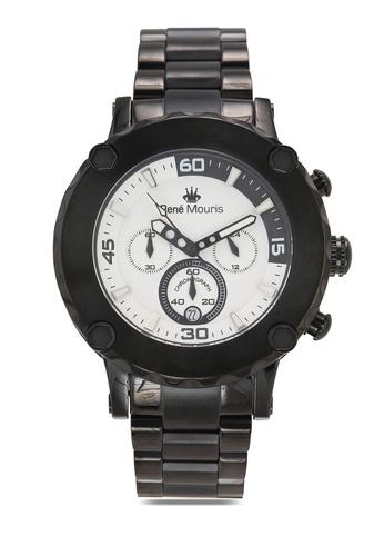 René Mouris black Santa Maria - 49mm Quartz Chrono Watch F8BE1AC27367FDGS_1