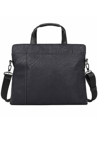 Lara black Top Handle Briefcase With A Strap - Black 9DF6FAC5F723C8GS_1