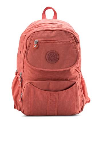 BAesprit outletGSTATIONZ MDS Crinkled Nylon Fabric Backpack, 包, 後背包