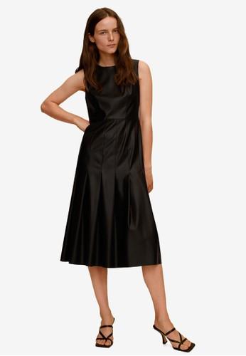 Mango black Midi Dress 9C394AAF739D51GS_1