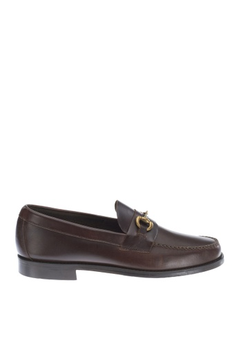 Sebago brown Heritage Bit Dress Casual Shoes SE328SH31OVOPH_1