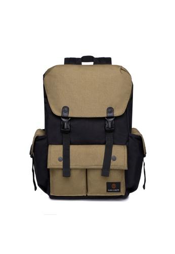 The Dude black Predator Backpack TH373AC76YXFHK_1