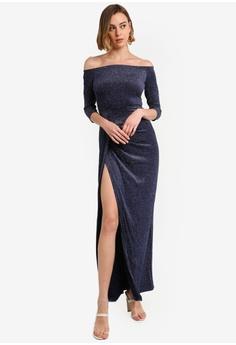 ab33d5d865f 30% OFF AX Paris Sparkle Maxi Dress RM 259.00 NOW RM 180.90 Sizes 8 10 12 14