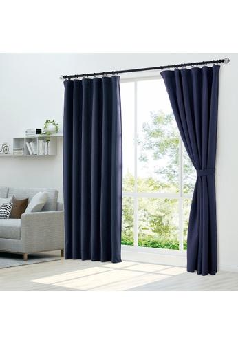 Epitex blue Epitex Luxury GRA201-5 Ready Made Curtain (Dk Blue) F20CCHL1CBAAF4GS_1