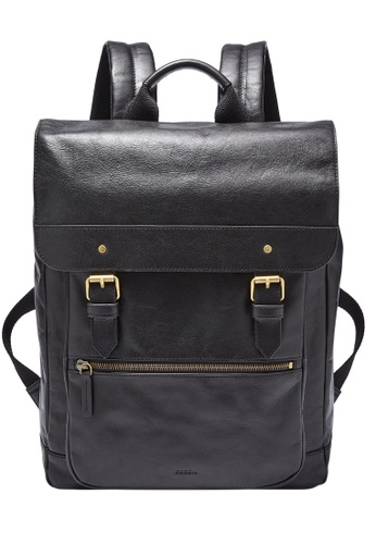 Fossil black Miles Backpack SBG1292001 94148AC2250433GS_1