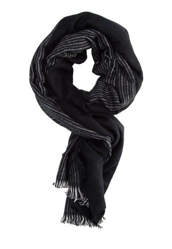 兩用條紋圍巾, 飾品配件, 飾esprit 內衣品配件
