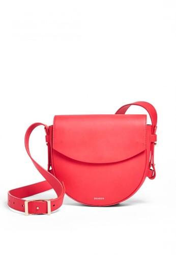SKAGEN red Skagen Lobelle - Leather - Saddle - Tas Skagen Wanita - SWH0211684 E578FAC359296EGS_1