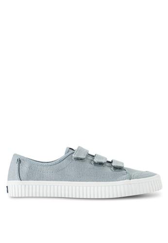 Sperry grey Crest Creeper Velcro Sneakers SP132SH35BQAMY_1