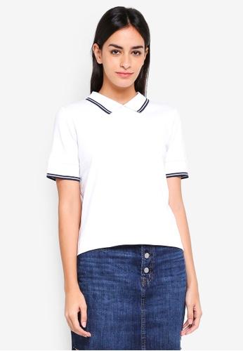 ESPRIT white Short Sleeve Top 09328AA01526FEGS_1