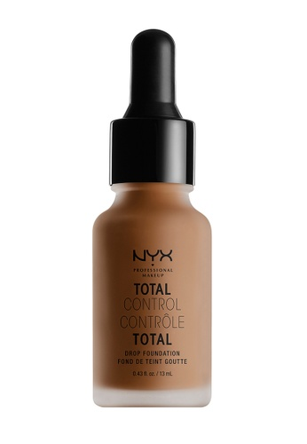 NYX Professional MakeUp beige Total Control Drop Foundation - Mocha NY342BE00ZADPH_1