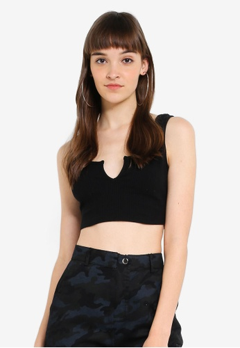 28117ea1032cf Buy Supre Ariel V Crop Top Online on ZALORA Singapore