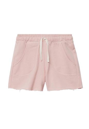MANGO KIDS pink Cotton Organic Shorts ED298KA9201014GS_1