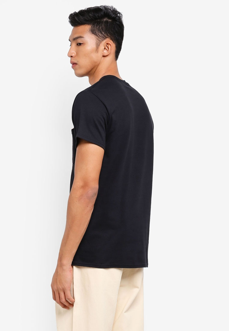 Black Sleeve Eyez Pocket Short OBEY All Tee xzFSHwAq