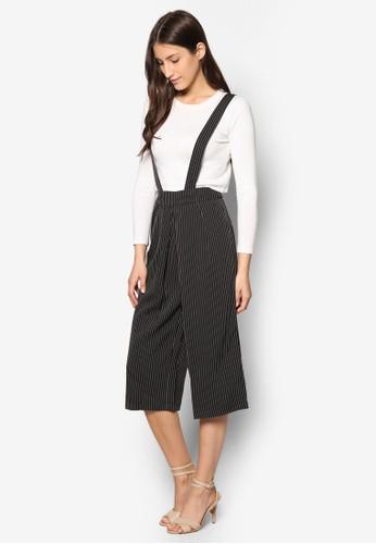 Suspender Wide Legs Cresprit 童裝op Pants, 服飾, 長褲及內搭褲