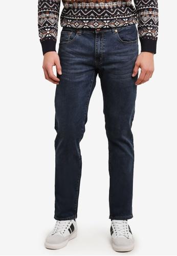 Electro Denim Lab blue Funk Slim Jeans EL966AA0SF7RMY_1