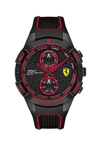 Scuderia Ferrari black Scuderia Ferrari Apex Black Men's Watch (0830634) 08379AC90B0772GS_1