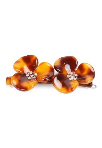 Kings Collection brown Korean Petal Hair Clip (HA20249) D04F0AC4B5B05CGS_1