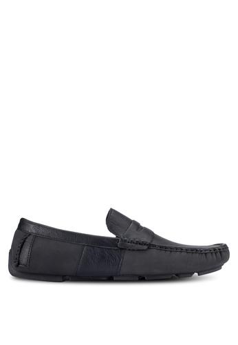 UniqTee black Slip-On Driving Loafers UN097SH0RFVQMY_1
