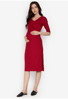 d250493d76f Assymmetric Cut Maternity Dress 53F39AA00D61EAGS 1
