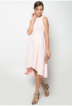 Midi Longback Dress