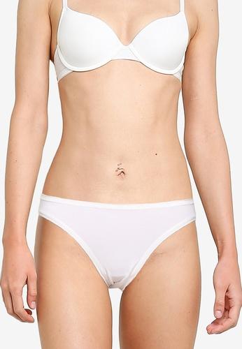 GAP white Stretch Cotton Bikini Panties D394FUSE213537GS_1
