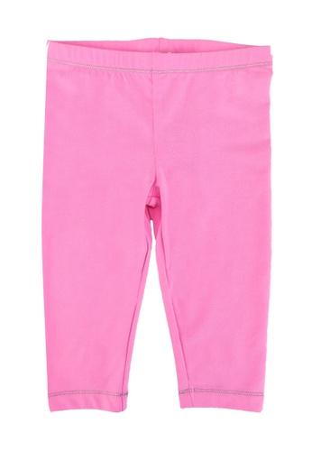 DU PAREIL AU MÊME (DPAM) pink Classing Long Leggings 68760KACECB590GS_1