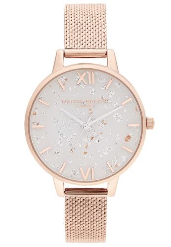 Olivia Burton white Olivia Burton Celestial Rose Gold Women's Watch (OB16GD35) 2B51AAC94E1A8FGS_1
