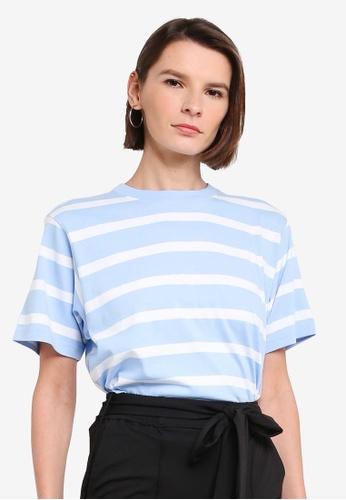niko and ... blue Stripe T-Shirt 2D100AA9C8C0FDGS_1