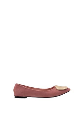SEMBONIA pink SEMBONIA Ballet Shoe (Pink) 9414CSH51C0E0EGS_1