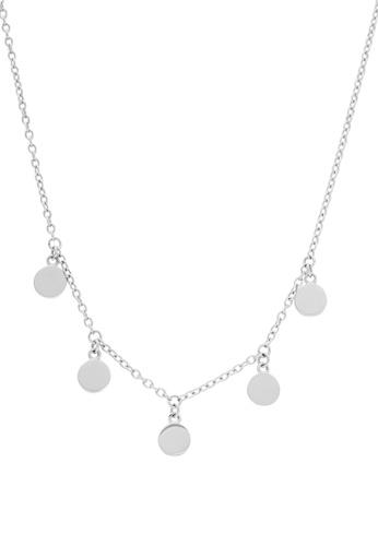 Pastiche silver Gypsy Moon Necklace 051CCAC80916A3GS_1
