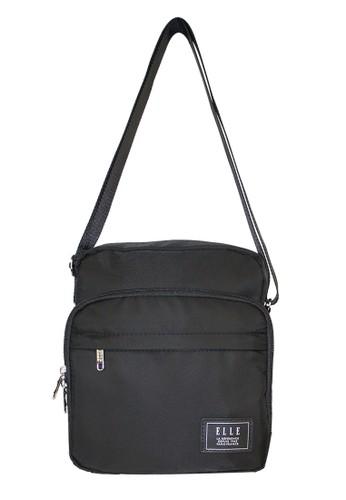 ELLE black Elle 83503 - 02 Sling Bag Pria 9a942ca418