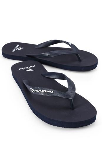 Rip Curl 白色 and 海軍藍色 Mc Flip Flops 47353SH4BD870BGS_1