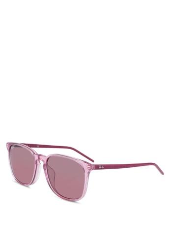 Ray-Ban 粉紅色 Ray-Ban RB4387F 太陽眼鏡 891A0GL552B924GS_1