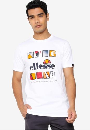 ellesse white Souscri T-Shirt F0A4CAAB0E06A5GS_1