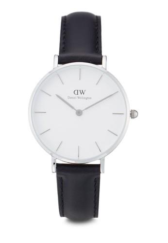 Daniel Wellington black Classic Petite Sheffield Watch DA965AC0UKT0ID_1