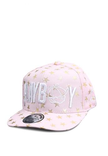 Dooka pink Baseball Cap Embroidery Flat Hip-Hop Snapback Cap CCBB3ACFC3FA62GS_1
